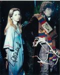 Tom Baker, Lalla Ward -  Multi signed DOCTOR WHO Genuine Signed Autographs 10 x 8 COA 10273